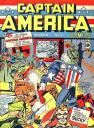 captain america comics 1, el comic dedicado al capitan america