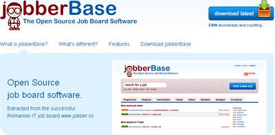 jobber base crea webs de bolsas de trabajo