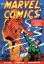 Marvel Comics 1, primera aparicion de la Antorcha Humana y otros super heroes