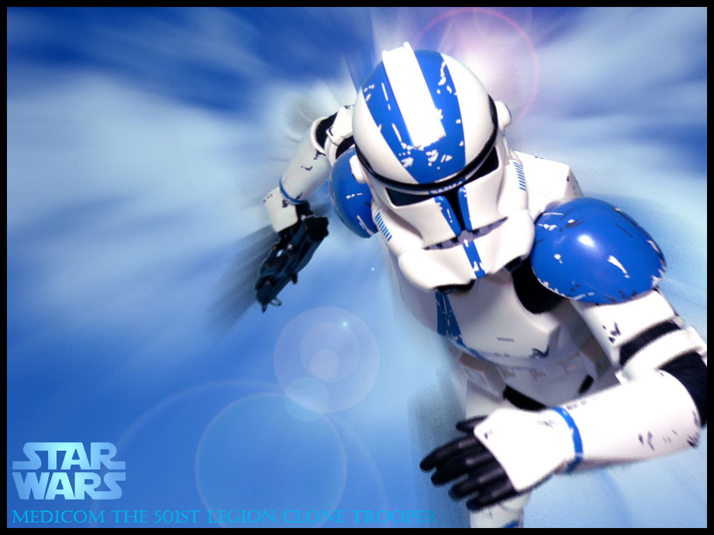 clone trooper solitario de Star Wars wallpaper