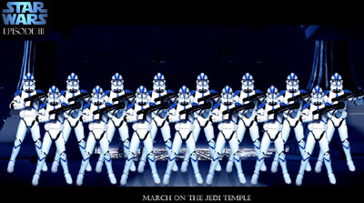 clone troopers de star wars episodio 3