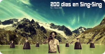 portada de la revista 200 dias en sing sing