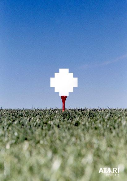 Juego de Golf para Atari
