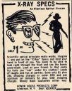 Gafas o lentes de rayos X para ver a través de la ropa