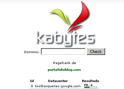 el pagerank de kabytes para descarga