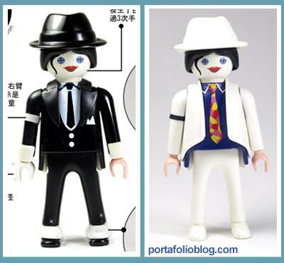 Michael Jackson en figura de playmobil