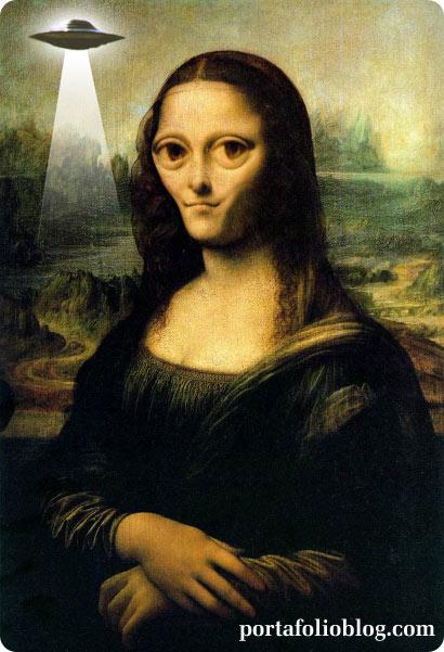 La mona Lisa extraterrestre