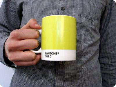 La nueva taza pantone para impresores