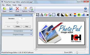 photopad software gratuito