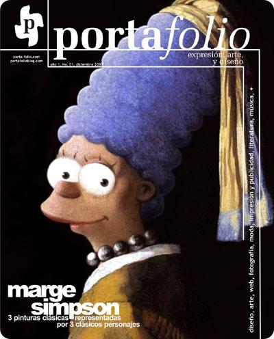 Portada de la Revista Portafolio si fuera una revista impresa