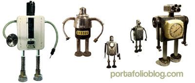 robots vintage