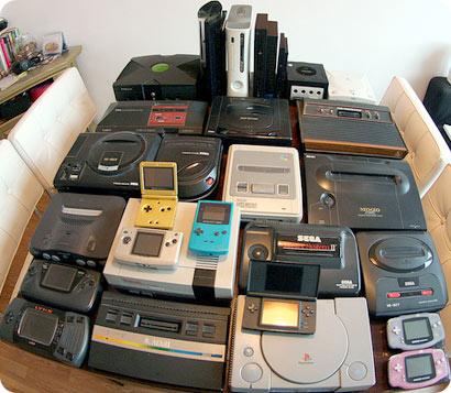 colección de videoconsolas