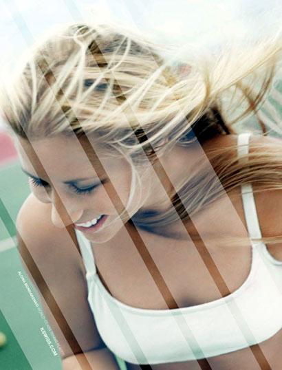Alona Bondarenko sonriendo