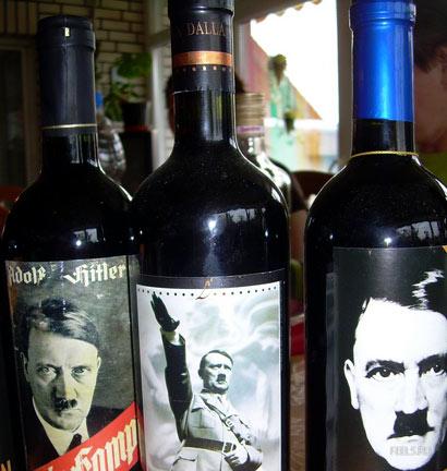 Vinos con etiquetas del Tercer Reich