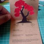 Invitación de Boda con árbol en 3D