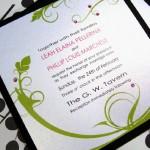 Invitación de Boda orgánica y sencilla