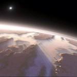 Grietas en Marte, posibilidad de agua