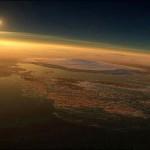 Una vista de Marte muy hermosa