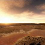 Marte, esplendor y polvo