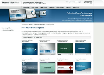 Paginas web para descargar plantillas de powerpoint gratis