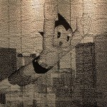 Astro Boy con aspecto pixel, en Tokio