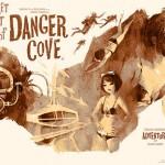 Chicas super agentes en la playa del peligro