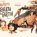 Chicas contra los mutantes gigantes de debajo de la tierra