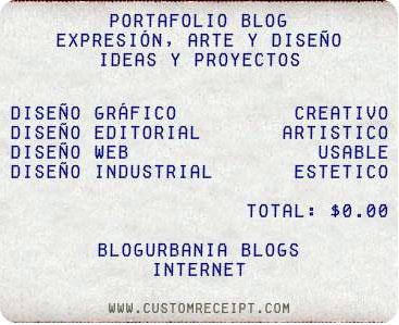 página web para crear recibos de compra portafolio blog