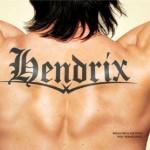 Tatuaje masculino de Jimi Hendrix en la espalda de un chico