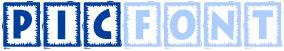 picfont logotipo del sitio web para poner texto a las fotos
