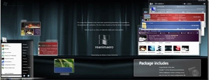 Windows Vista Reanimaero VS Free Theme