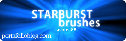 starburst photoshop brushes, gratis para descargar