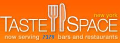 tastespace logotipo de la web 2.0 de restaurantes y bares