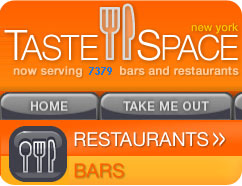 tastespace bares y restaurantes de new york