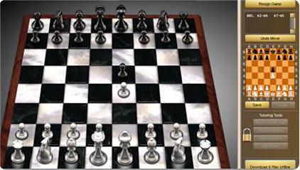 ajedrez online, partidas de ajedres en linea gratis