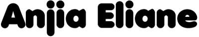 anjia eliane, fuente tipografica gratis