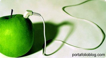 apple verde, de vuelta al trabajo