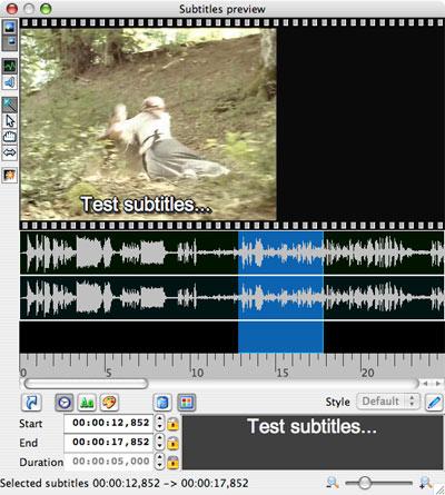 jubler, crea, genera y edita subtitulos de video