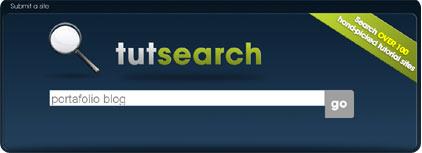 tutsearch logotipo y busqueda de tutoriales