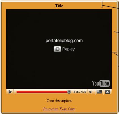 vtubetools interfaz visual del player de youtube