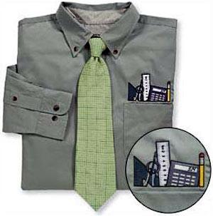 camisa nerd o accesorio geek de hoy, con corbata incluida