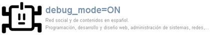 debug mode on, una red social dedicada a programadores y desarrolladores