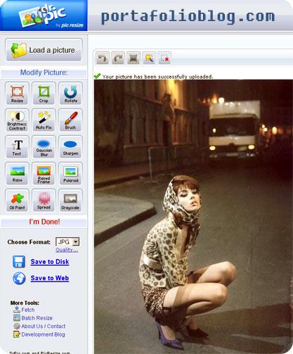 drpic editor de fotos en linea gratis