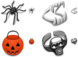 halloween iconos terror, descarga gratis Trick or treat