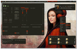 linux theme chica asiatica, muy hermosa