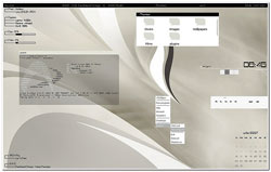 linux theme gris limpio, o llamado weathing grey