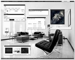 linux theme gris, elegante y armonioso