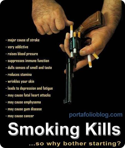 publicidad antitabaco, interesante y creativa