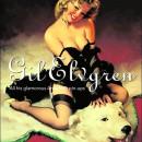 gil elvgren ilustracion pinup de chica con medias negras de liguero