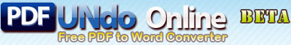 pdf undo, conversor de pdf a word
